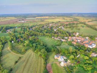 Stratford-upon-Avon Aerial Shot, UK