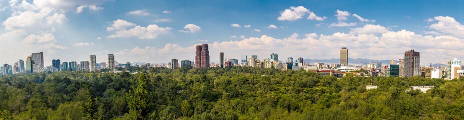 Photo sur Plexiglas Mexique Panoramic View of Mexico City