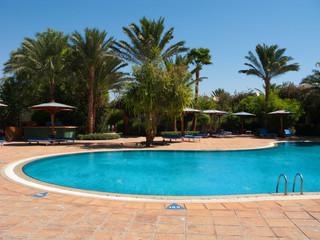 Beautiful hotel pool