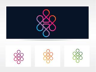 H logo