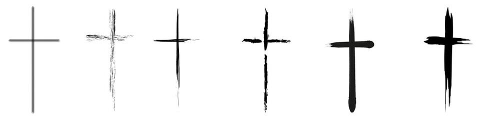 crucifix Wall mural