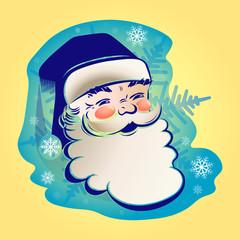 the figure of Santa Claus