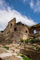 Old medieval citadel,Deva,Romania