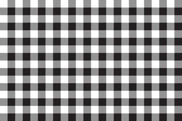 Black white checkerboard check seamless background
