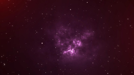Space and Stars Background.