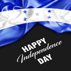 Honduras Happy Independence Day. 3d illustration