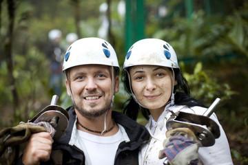 Rainforest Couple