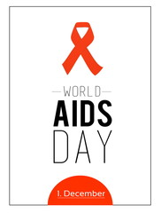 World AIDS day. 1st December