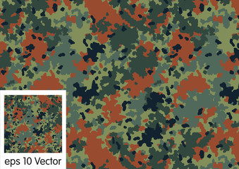 Germany camouflage pattern vector