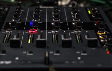 Mixer Panel and cursor