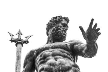 Neptune statue Wall mural