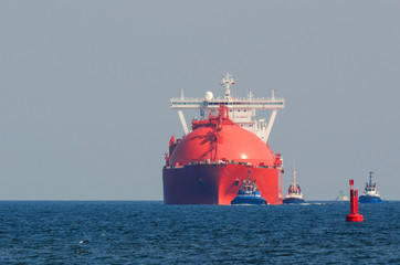 RED GAS CARRIER