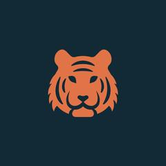 Tiger logo, Vector illustration