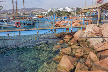 Eilat. On the beautiful Red Sea in Israel.