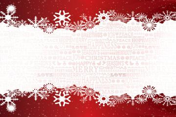 Weihnachten roter Hintergrund