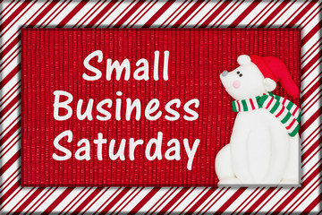 Small Business Saturday message