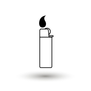 lighter vector icon