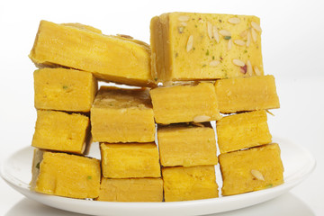 Indian sweets of ghee