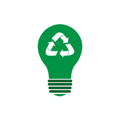 Isolated recyclable icon