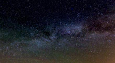 Milky Way Galaxy on nigh sky