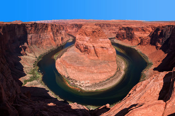 Horseshoe Bend. Meander on the Colorado River.