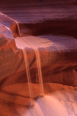 Color and textures. Antelope Canyon. Page. Arizona