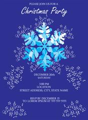 Vector Christmas Invitation