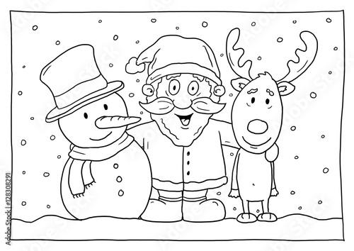 """""""ausmalbild weihnachten"""" stockfotos und lizenzfreie bilder"""