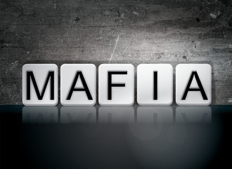 Mafia Tiled Letters Concept and Theme
