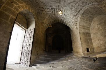 Citadel entrance door Aleppo
