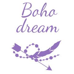 Boho Dream Illustration