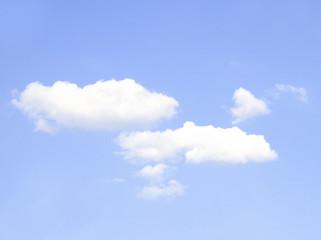 vast blue sky and clouds sky