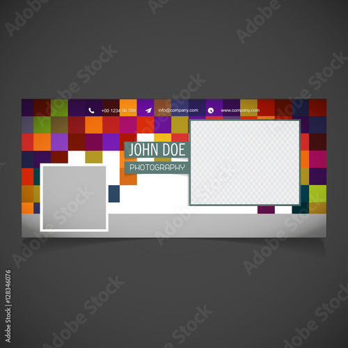 Creative Photography Banner Template Place For Image Photography