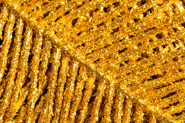 Gold glitter texture  background. Abstract.