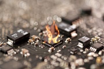 ic burn