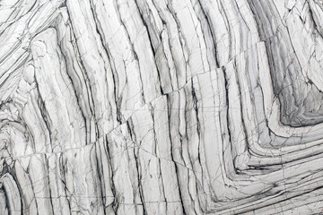 Gray marble texture with natural pattern for background or desig