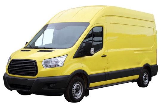 Yellow van.