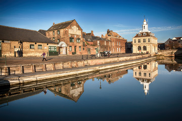 KINGS LYNN PURFLEET QUAY IN NORFOLK UK: October 2016 - Used to be the home of Customs and Excise for over 200 years until 1989