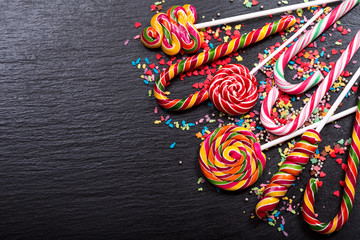 various candy canes