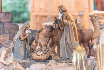 Im Stall von Bethlehem - Weihnachtskrippe