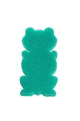 Children's foam rubber sponge in the shape of a frog.