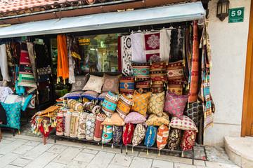 Street bazaar in Sarajevo