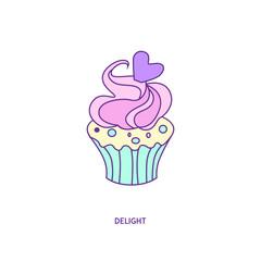 cupcake icon character 01