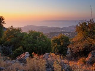 Sunset on Lesbos, Greece