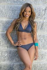 African American Bikini Model