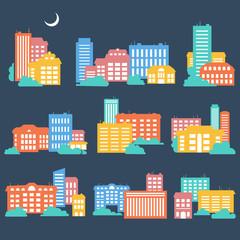 Urban cityscape.