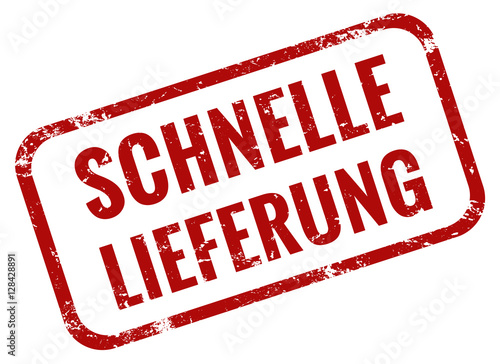 schnelle lieferung stempel rot stock image and royalty