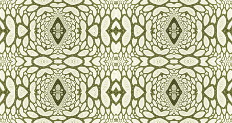 Abstract fractal high resolution seamless pattern background ideal for carpets, tapestries, fabric and wallpapers with a detailed abstract flower pattern in a grid in dark colors
