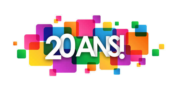 Icône 20 ANS