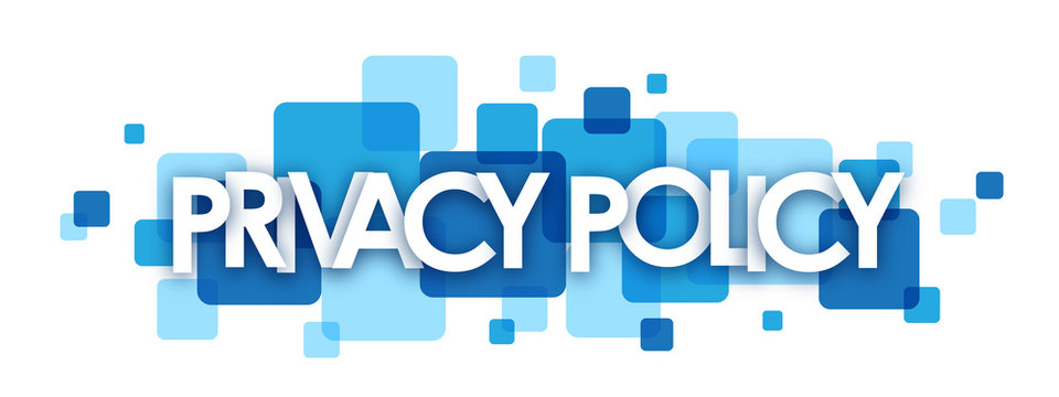 PRIVACY POLICY Vector Letters Icon